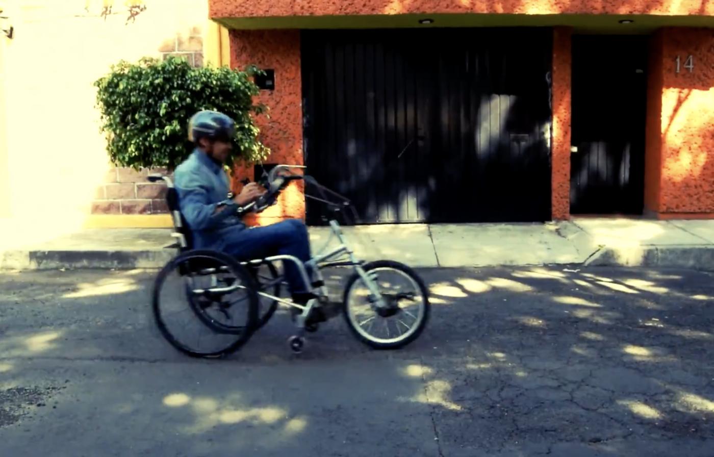 dtbike bicicleta silla de ruedas